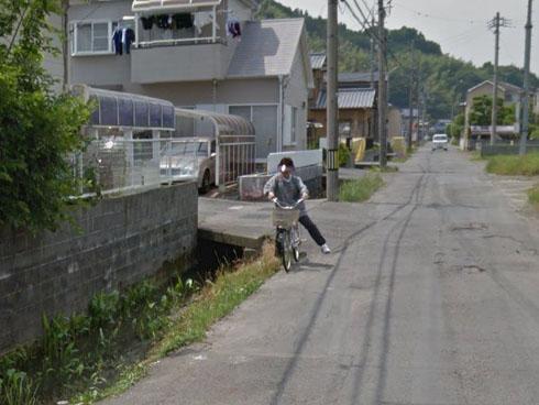 ストリートビュー 事故 衝撃の瞬間