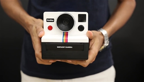 3秒動画が撮れるポラロイド風インスタントカメラを自作した猛者 3DプリンタデータをWeb上で公開