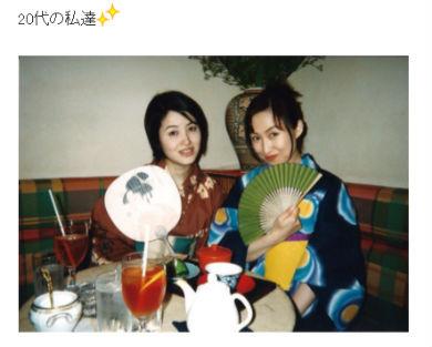 22年前の荻野目洋子さんと森口博子さん