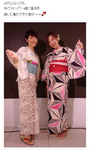 現在の荻野目洋子さんと森口博子さん