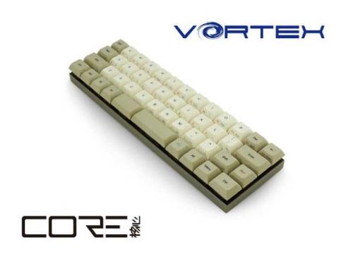 Vortex CORE 47keys ミニマルデザイン キーボード アーキサイト