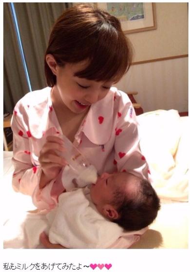 川崎希 アレクサンダー 出産 第1子 体重