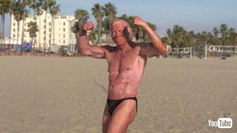 世界最高齢 おじいちゃん ボディービルダー 84歳