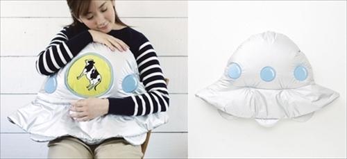 アブダクションする UFO着る毛布
