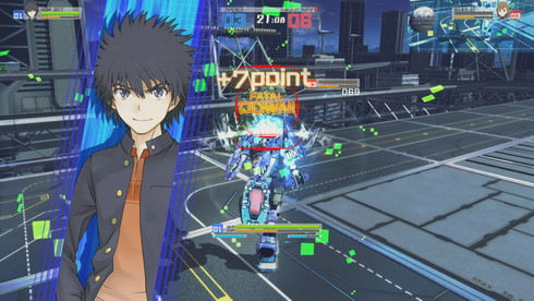 とある魔術の電脳戦機 戦闘画面