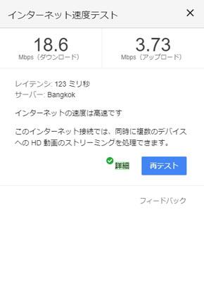 テスト グーグル スピード