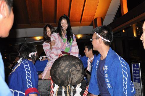 道祖神祭り 松本 男根 ニコニコ
