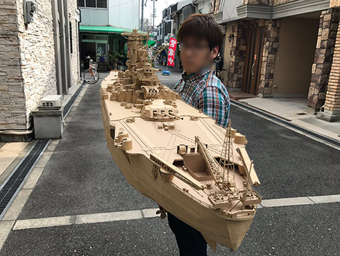 戦艦大和 段ボール ヤマト