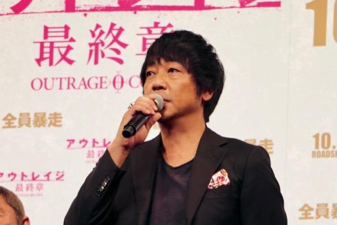 念願のアウトレイジシリーズ出演を果たした大森南朋さん