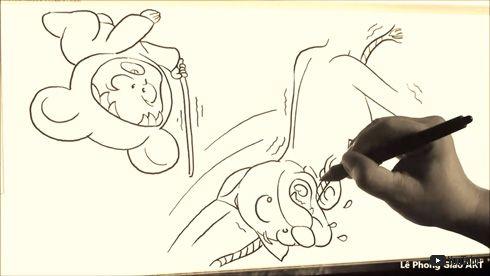 心が汚れている人には、エッチに見えるお絵描き動画