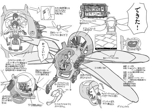設定・断面図フェチに読んでほしい 最強のアニメ制作部活マンガ『映像研には手を出すな!』
