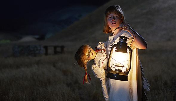アナベル 死霊人形の誕生 サンドバーグ インタビュー