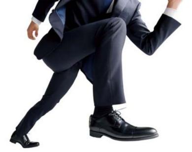 走れる革靴 洋服の青山 ブリヂストン