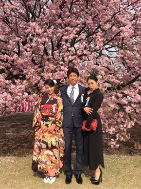 紅蘭 草刈正雄 家族写真
