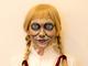 """チョーヒカルのボディーペイントで、実在する呪われた人形""""アナベル""""になってみた"""
