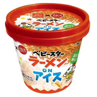 ベビースターラーメン ON アイス ナムコ