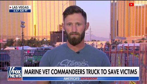 トラックを盗みけが人約30人を運んだ元海兵隊員に称賛が集まる ラスベガス銃乱射事件で