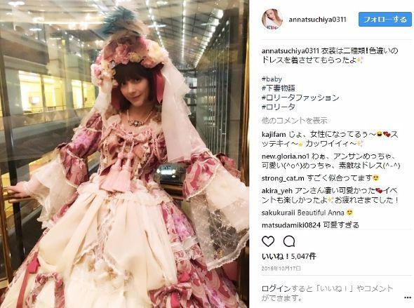 土屋アンナ 下妻物語 ロリータ BABY Instagram