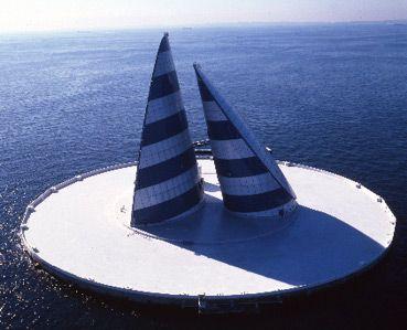 海ほたるPA クルーザー ツアー 初 風の塔