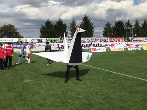 キヅール グルージャ盛岡 CAMPFIRE サッカー Jリーグ マスコット