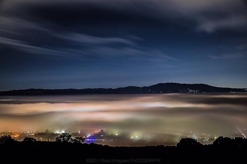 奈良県奈良市を覆う大雲海