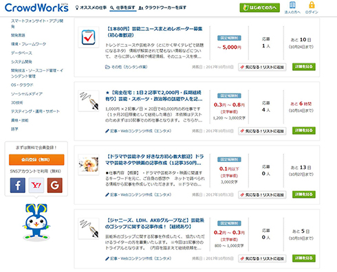 クラウドワークス CrowdWorks 180日ルール 報酬没収