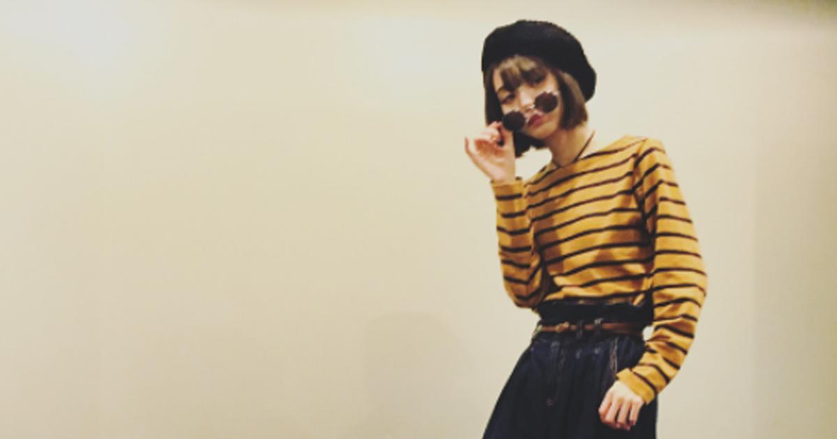 どこのモデルさんかと思ったら! 市川美織、大人になったLEON・マチルダコーデを見事表現