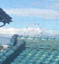 台風 21号 観覧車 南知多ビーチランド 回転 回る ゴンドラ