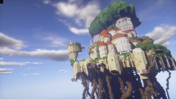 2011年6月9日_「マインクラフト」で「天空の城ラピュタ」を再現する ...