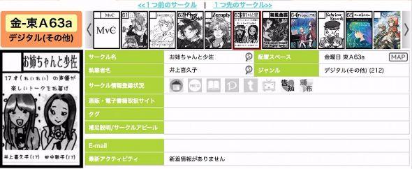 田中敦子 井上喜久子 コミックマーケット お姉ちゃんと少佐