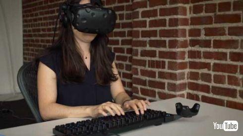 VR キーボード 新技術 ロジテック BRIDGE