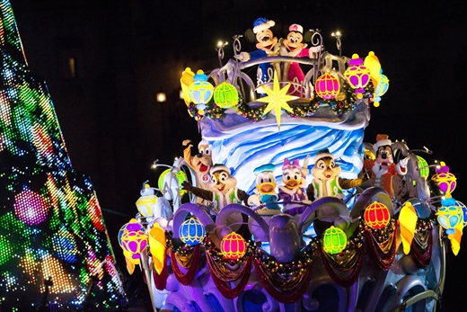 東京ディズニーシー カラー・オブ・クリスマス