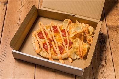 ピザポテト味のピザ