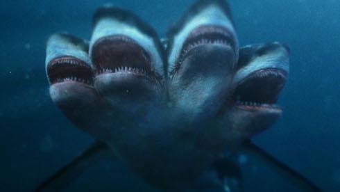 ファイブヘッド・ジョーズ サメ映画 アサイラム アルバトロス
