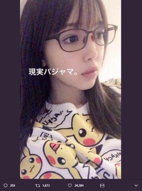 藤田ニコル 女子あるある パジャマ ピカチュウ ポケモン