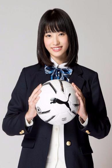 高橋ひかる 全国高校サッカー選手権大会 応援マネージャー