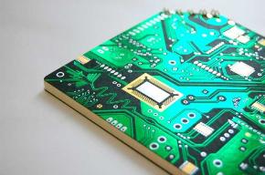 ナスカの電子回路 ななめリングノート コスモテック 箔押し