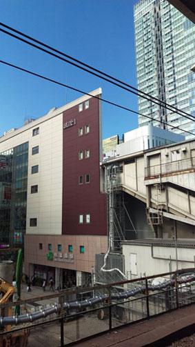 JR秋葉原駅ハリボテ説