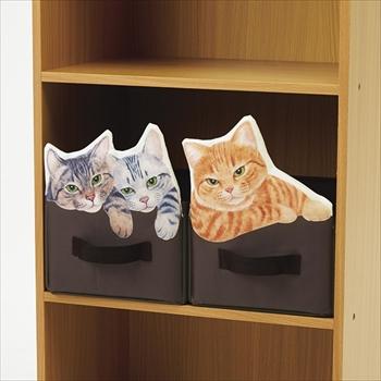 猫収納ボックス