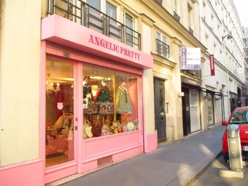 Angelic Prettyパリ支店