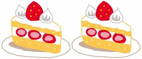 ケーキの分け方