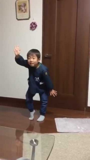 バブリーダンス 子ども かわいい キレ 登美丘高校