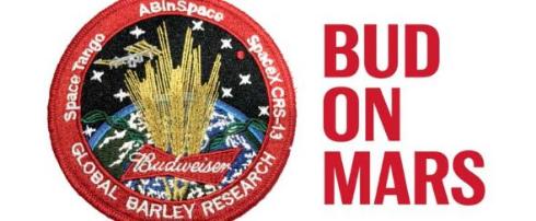 バドワイザー 火星 ビール 大麦 実験