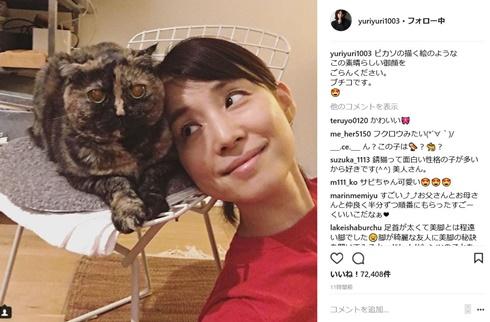 石田ゆり子 Instagram