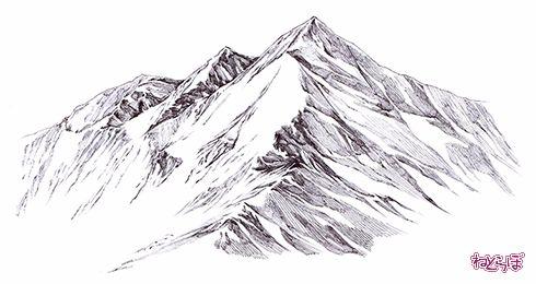 誰でも描けるリアル背景山の描き方 12 ねとらぼ