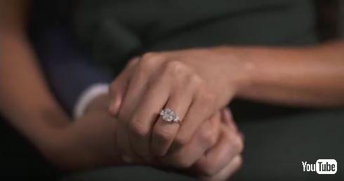 イギリス王室ヘンリー王子が女優メーガン・マークルに送った婚約指輪