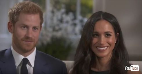 イギリス王室ヘンリー王子と女優メーガン・マークルが婚約を発表
