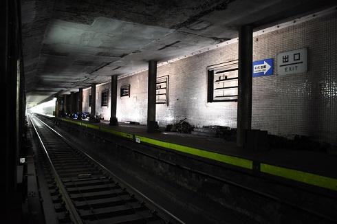 駅 ライトアップ メトロ