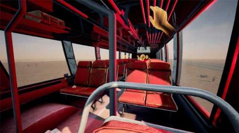 Desert Bus VR バス 運転 砂漠 クソゲー