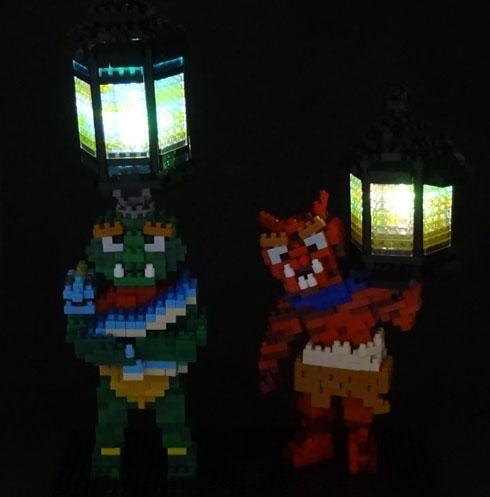 天燈鬼と龍燈鬼